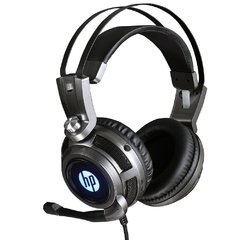 Headset Gamer Hp Gaming H200 Metal Led Blue Usb Estéreo - 8AA03AA#ABM - comprar online