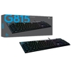 Teclado Gamer Mecânico Logitech Gamer G815 Rgb Switch Gl Tactile Brown (Us) - 920-008984