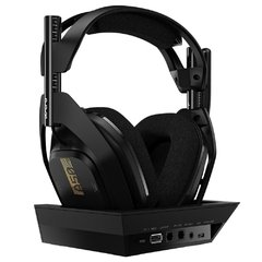 Headset Gamer Astro A50 Xbox One Preto Wireless + Base Station Pc/Console Usb Dolby Digital Surround 7.1 - 939-001681 na internet