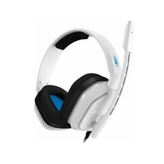 Headset Gamer Astro A10 Ps4 Branco/Azul Pc/Console P2 Estéreo - 939-001853 na internet
