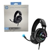 Headset Gamer Hp Gaming H360gs Preto Led Rgb Usb Dolby Digital Surround 7.1 - 9AJ69AA#AC4