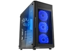 Gabinete Gamer Raidmax Alpha Prime Black Tempered Glass Mid Tower C/ Janela - A15TTB