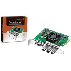 Placa De Captura Blackmagic Decklink Sdi 4k Pc-E 1080p 60 Fps - BLDLSDI4K