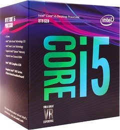 Processador Intel Core I5 8400, 6 Core 6 Threads, Coffee Lake 8ª Geração, Cache 9mb, 2.8ghz (4.0ghz Max Turbo), Lga 1151, Intel Uhd Graphics 630 - BX80684I58400