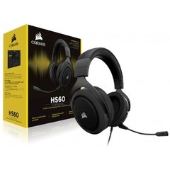 Headset Gamer Corsair Gaming Hs60 Carbon Black Usb Dolby Digital Surround 7.1 - CA-9011173-NA