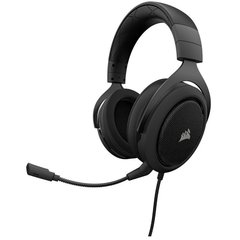 Headset Gamer Corsair Gaming Hs60 Carbon Black Usb Dolby Digital Surround 7.1 - CA-9011173-NA - comprar online