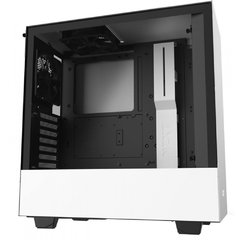 Gabinete Gamer Nzxt H510b-W1 White/Black Tempered Glass Mid Tower C/Janela - CA-H510B-W1 - comprar online