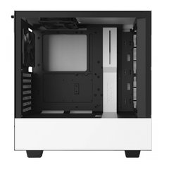 Gabinete Gamer Nzxt H510b-W1 White/Black Tempered Glass Mid Tower C/Janela - CA-H510B-W1 na internet