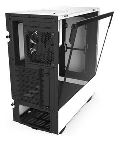 Gabinete Gamer Nzxt H510b-W1 White/Black Tempered Glass Mid Tower C/Janela - CA-H510B-W1 - Venturi Gaming® - A loja para gamers de verdade.