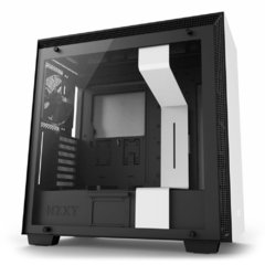 Gabinete Gamer Nzxt H700 White Tempered Glass Mid Tower C/Janela - CA-H700B-W1