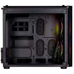 Gabinete Gamer Corsair Crystal Series 280x Rgb Black Tempered Glass Mini Tower C/ Janela - CC-9011135-WW na internet