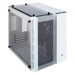 Gabinete Gamer Corsair Crystal Series 280x White Tempered Glass Mini Tower C/ Janela - CC-9011136-WW