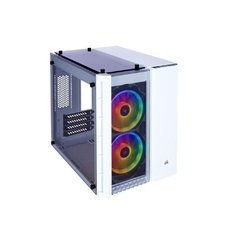 Gabinete Gamer Corsair Crystal Series 280x Rgb Branco Vidro Temperado Mini Tower C/ Janela - CC-9011137-WW