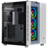 Gabinete Corsair Crystal Series 680X RGB White Tempered Glass Mid Tower C/Janela - CC-9011169-WW
