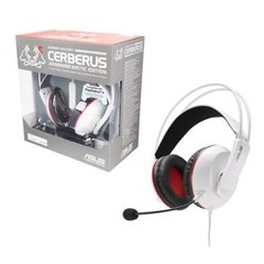 Headset Gamer Asus Cerberus White P2 Estério (PS4) - CERBERUS/ARCTIC/ALW/AS
