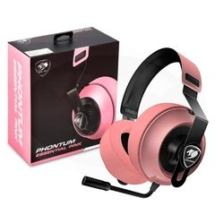 Headset Gamer Cougar Gaming Esports Phontum Pink Edition P2 Estéreo - CGR-P40NP-150