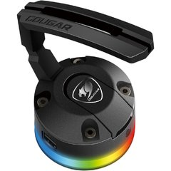 Suporte Hub Bunker Mouse Bungee Cougar Gaming Rgb Usb 2.0 - 3MMBRXXB.0001 - comprar online