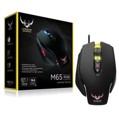 Mouse Gamer Corsair Vengeance M65 Black 8.200 DPI (RGB) Laser - CH-9000070-NA