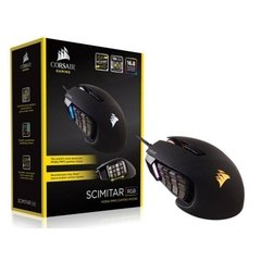 Mouse Gamer Corsair Gaming Scimitar Black 12.000 DPI (RGB) Óptico - CH-9000091-NA