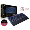Teclado Gamer Mecânico Corsair Gaming K63 Preto Compacto Wireless/Bluetooth Cherry Mx Red Led Blue (Us) - CH-9145030-NA