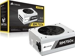 Fonte Real Corsair Rm750x 80 Plus Gold Serie White Modular - CP-9020187-WW