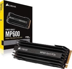 M.2 Corsair Mp600 Pci-E 500gb Leituras: 4950mb/S E Gravações: 2500mb/S - CSSD-F500GBMP600