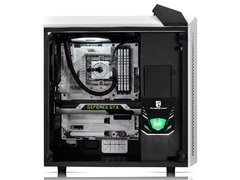Gabinete Deepcool Baronkase White Edition Rgb Tempered Glass Mid Tower C/ Janela + Liquid Hydro Cooler Captain Ex 120 Rgb 120mm - DP-MATX-BNKSWH-LQD - comprar online