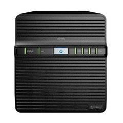 Nas Synology Ds418j 40tb 4-Bay (14tb Max.Expandido), Cloud Network, Storage Enclosure - DS418J - comprar online