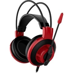Headset Gamer Msi Gaming Ds501 Black/Red P2 Estéreo - DS501 - comprar online