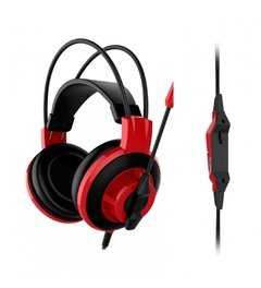 Headset Gamer Msi Gaming Ds501 Black/Red P2 Estéreo - DS501 na internet