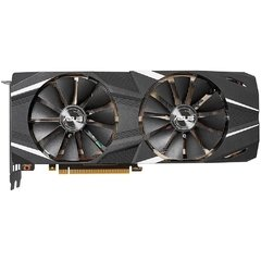 Placa De Vídeo Asus Nvidia Geforce Dual Advanced Edition Rtx 2080 Ti 11gb Gddr6 352 Bits - DUAL-RTX2080TI-A11G - comprar online