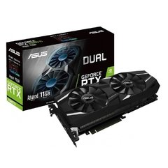 Placa De Vídeo Asus Nvidia Geforce Dual Advanced Edition Rtx 2080 Ti 11gb Gddr6 352 Bits - DUAL-RTX2080TI-A11G