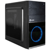 Gabinete Gamer Evolut Shin Preto Fan 120 Led + Fan 80mm Mini Tower C/Janela - EG-804