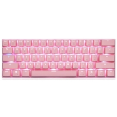 Teclado Gamer Mecânico Motospeed Ck62 Compacto Bluetooth Rosa Switch Outemu Red Rgb (Us) - FMSTC0098RSA - comprar online