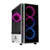 Gabinete Gamer Redragon Grapple Branco Vidro Temperado Mid Tower S/Fan C/Janela - GC-607-WH
