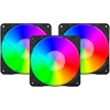 Fan Redragon Gc-F007 Rgb 3 X 120mm Pwm C/ Controle - GC-F007