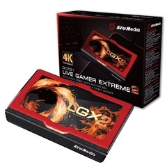 Placa De Captura Externa Avermedia Live Gamer Extreme 2 Interface Usb 3.1 (Gen 1) Type-C 4k 60 Fps - GC551