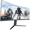 Monitor Gamer Gamemax Led/Va Curvo Áudio Integrado Hdr Amd Free-Sync Premium/Nvidia G-Sync Ultra Wide 21:9 144hz 1ms Dp/Hdmi 2.5k 34'' - GMX34CKXQ