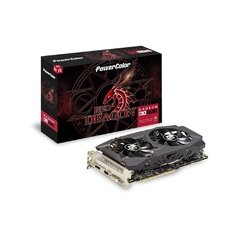 Placa De Vídeo PowerColor AMD Radeon Red Dragon RX 590 8GB GDDR5 256 Bits - AXRX 590 8GBD5-DHD