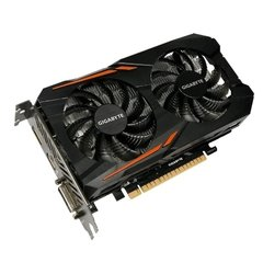 Placa De Vídeo Gigabyte Nvidia Geforce Windforce Oc Edition Gtx1050ti 4gb Gddr5 128 Bits - GV-N105TOC-4GD na internet