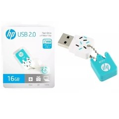 Pendrive Hp V178b Mini Azul 16gb Usb 2.0 - HPFD178B-16
