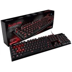 Teclado Gamer Mecânico Hyperx Alloy Fps Black Led Red Cherry Mx Blue (Us) - HX-KB1BL1-NA/A4