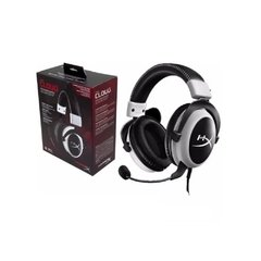 Headset Gamer Hyperx Cloud Preto/Branco P2 Estéreo - KHX-H3CL/W