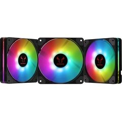 Fan Riotoro Quiet Storm RGB 3 X 120mm PWM - FRGB120-QS168X na internet