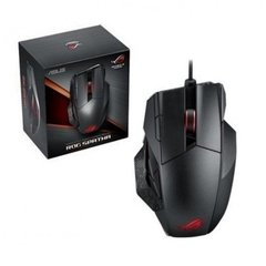 Mouse Gamer Asus ROG Gaming Spatha Black Wireless 8.200 DPI Laser (RGB) Hybrid - L701-1A-ROG SPATHA