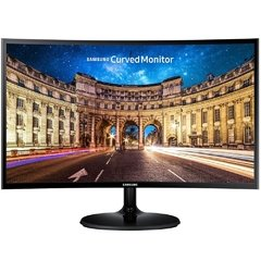 Monitor Gamer Samsung Led Curved Black Lc27f390f 60hz Amd Free-Sync 4ms Hdmi/Vga 1080p 27'' - LC27F390F - comprar online