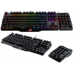 Teclado Gamer Mecânico Asus ROG Claymore Cherry MX RGB RED (US) - MA01 CLAYMORE/RD/US - comprar online