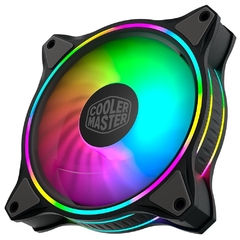 Fan Gamer Cooler Master Masterfan Mf120 Halo Preto 120mm Pwm Argb Loop Duplo - MFL-B2DN-18NPA-R1 na internet