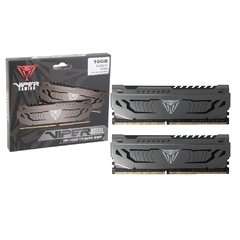 Memória Gamer Patriot Viper Gaming Viper Steel Ddriv 2 X 8gb 4000mhz - PVS416G400C9K