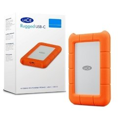 Hd Externo Lacie Rugged Usb-C 5tb 64mb 130mb/S 5.400 Rpm - STFR5000800